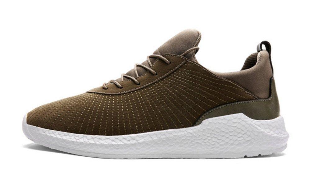 Hombres Ligero Zapatos Para Correr Otoño Nuevo Zapatos Atléticos Respirable Malla Zapatos Casuales ( Color : Brown , Size : 41 ) 41|Brown