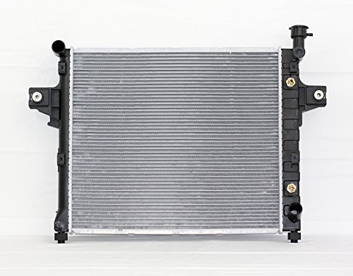 - Radiator - Pacific Best Inc For/Fit 2336 01-04 Jeep Grand Cherokee AT V8 4.7L Plastic Tank Aluminum Core