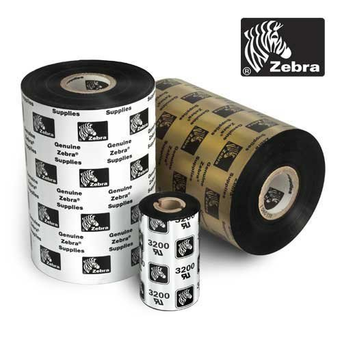ZEBRA 05586BK08945 - Zebra Wax Resin Ribbon 3.5inx1476ft 5586 Premium 1in core - Ther (Premium Resin Ribbons 5586 Wax)