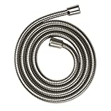 Hansgrohe 28120820 80-Inch Axor Metal Shower hose, Brushed Nickel