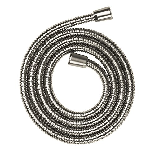 Hansgrohe 28120820 80-Inch Axor Metal Shower hose, Brushed Nickel by AXOR