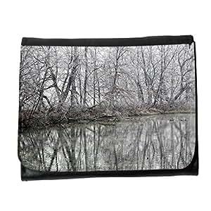 le portefeuille de grands luxe femmes avec beaucoup de compartiments // M00314597 Reflejo de la reflexión de invierno // Small Size Wallet