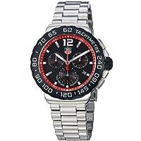 TAG Heuer Men's CAU1116.BA0858 Formula 1 Black Dial Stainless Steel Watch by TAG Heuer
