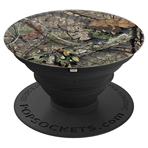 Camouflage Hunting Brown Green - PopSockets Grip and Stand for Phones and Tablets