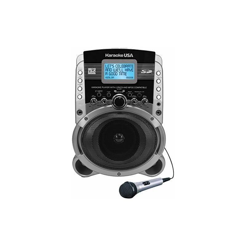 Karaoke USA SD519 Portable Karaoke MP3+G