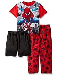 Boys Spiderman 3-Piece Pajama Set