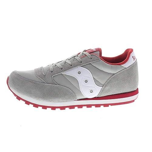 a29b25da201c Saucony Boys  Jazz Original Boys Gymnastics Shoes Grey Grey Red Grey Size   UK
