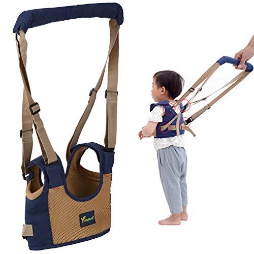 Pretty See Baby Walker Helper Walking Safety Harness Toddler Walking Assistant, Blue