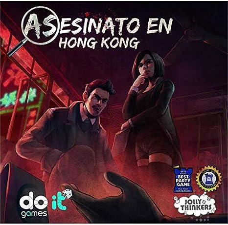 Maldito Games Asesinato en Hong Kong Juego de Mesa [Castellano]: Amazon.es: Juguetes y juegos