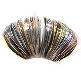 Warm Girl Mix Colors Rolls Metallic Striping Tape Line DIY Nail Art Tips Sticker Decoration Manicure Tools