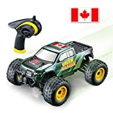 GPTOYS RC Car Off Road Vehicles-1/24 4WD Remote Control Car - High Speed RC Truck with Canada Flag Stickers for Kids and Adults, (S608)…