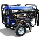 DuroMax XP4400EH Hybrid Portable Dual Fuel Propane Gas Camping RV Generator