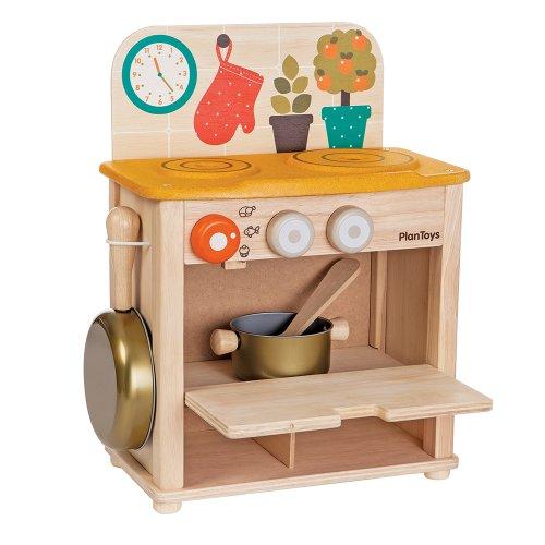 Plan toys kitchen set epic kids toys for Kitchen set toys amazon