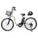 "Best Electric Bikes - NAKTO 26"" Electric Bikes for Women Man [1 Review"