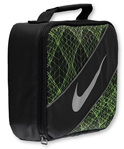 Nike Large Insulated Lunchbox - black/volt, one size