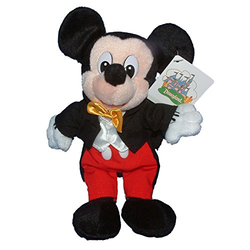 Disneyland Costume (Disneyland Store Exclusive Park Costume Mickey Mouse Mini Bean Bag)