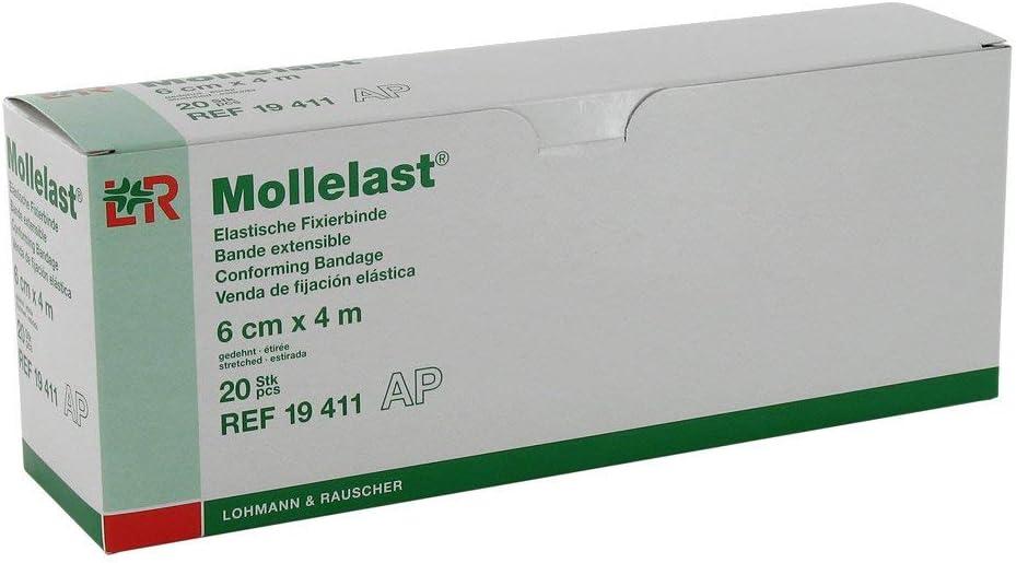 Almohadillas para Mollelast 6 cm x 4 m de color blanco juego de ...