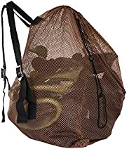 MOOCY MOPHOEXII Hunting Bags Mesh 1-Pack Duck Decoy Bag for Goose Turkey Hunting Waterfowl Backpack,Yellowish