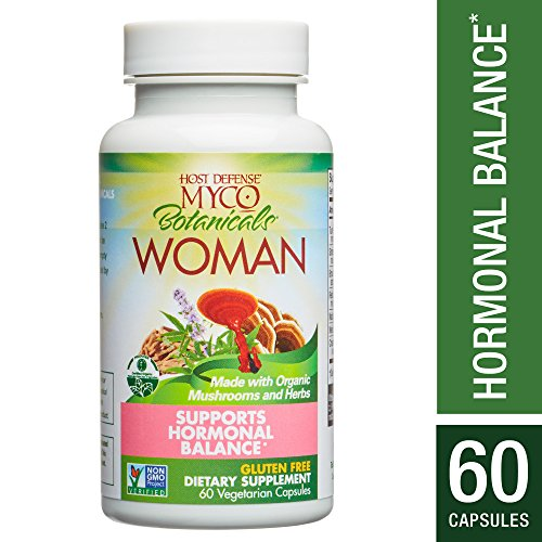 Host Defense – MycoBotanicals Woman Mushrooms and Herb Capsules, Helps Breast Health, Hormone Balance, and Immunity with Turkey Tails, Reishi, and Shatavari, Non-GMO, Vegan, Organic, 60 Count Review