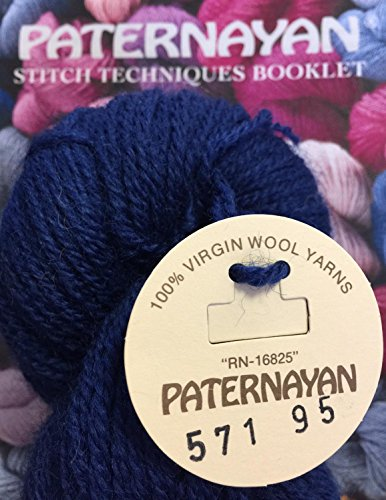 Paternayan Needlepoint 3 Ply Wool Yarn Color 571 Navy Blue
