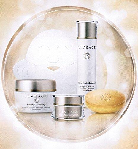 LIVEAGE(ライヴァージュ)基礎化粧品5点セット B00MXTQPF0