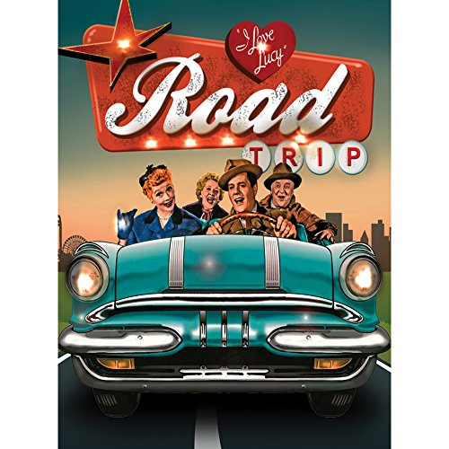 I Love Lucy Road Trip Lighted Canvas Art Print