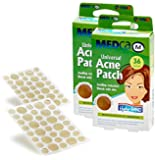 MEDca Universal Acne Pimple Patch Absorbing Cover 36 Count Two Sizes PACK OF TWO