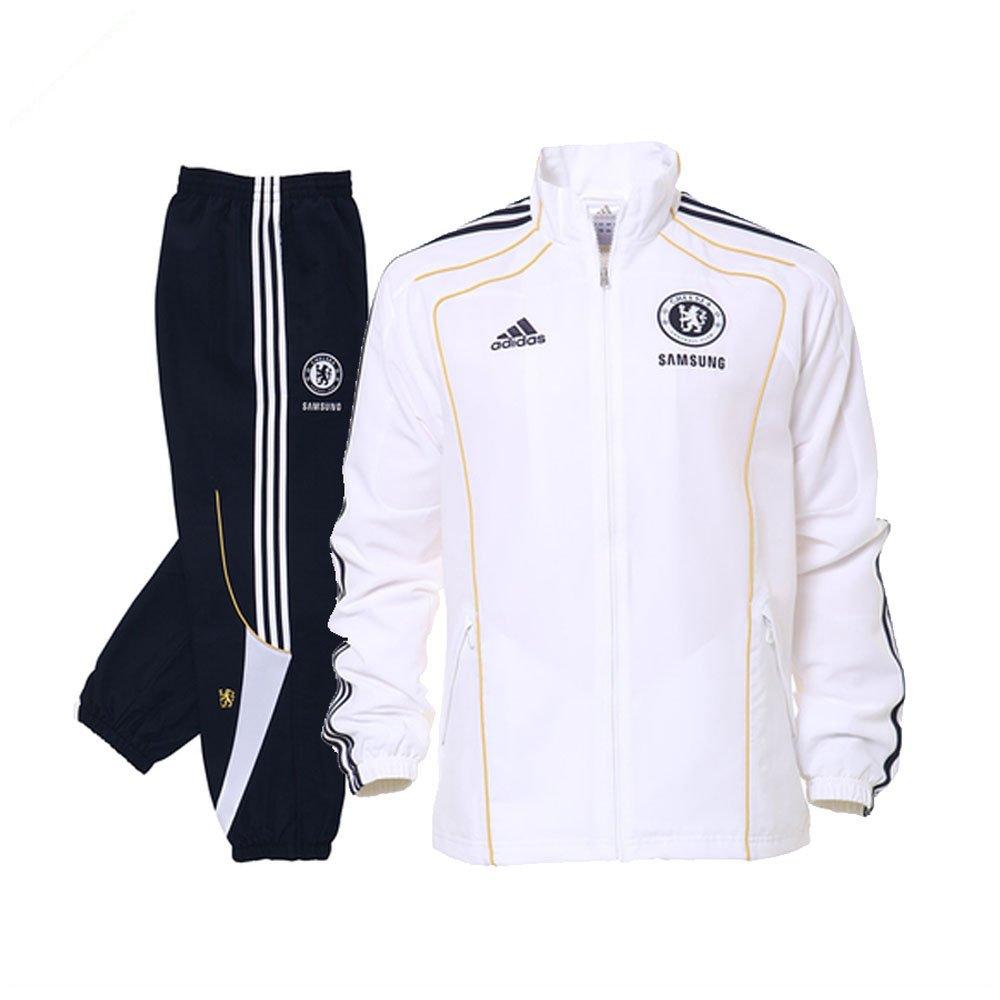 adidas - Chelsea Chandal Junior BL 10/11 Hombre Color: Blanco ...