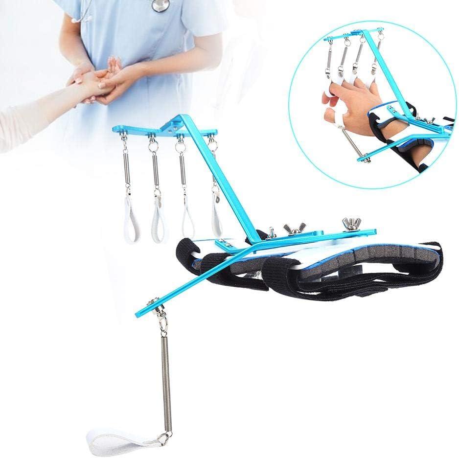 Ortesis de muñeca de Dedo Ajustable, ortesis dinámica Manos para el Movimiento Hemiplegia Gente Tendón Ejercicio