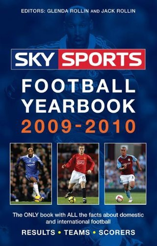 Sky Sports Football Yearbook 2009-2010 by Jack Rollin (6-Aug-2009) Paperback