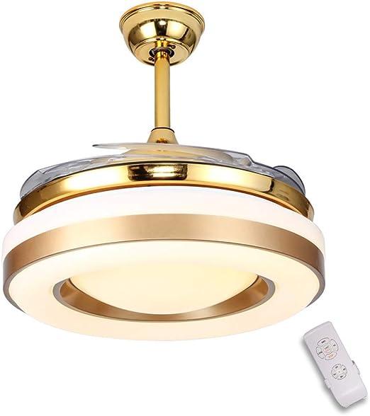 42 pulgadas Moderno Ventilador de techo,Luz del ventilador de ...