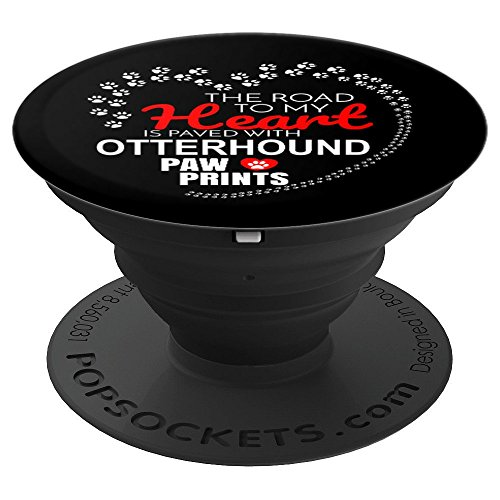 Otterhound Lover Owner Mom Dad - PopSockets Grip and Stand for Phones and Tablets