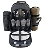 Premium Edition - 4 Person Picnic Backpack With