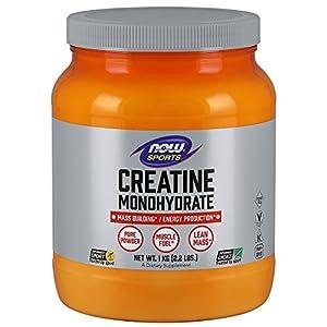 NOW Foods Creatine Monohydrate 100% Pure Powder