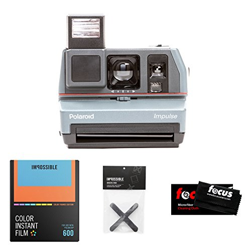 The Impossible Project Polaroid 600 Impulse Camera w/ Color Film