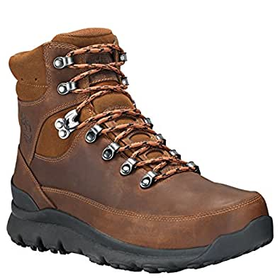 Timberland Mens World Hiker Mid WP Boot, Brown, Size 10.5