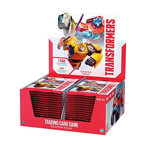 Transformers TCG Booster Box | 30 Booster Packs | 8 Transformers Cards Per Booster Pack -