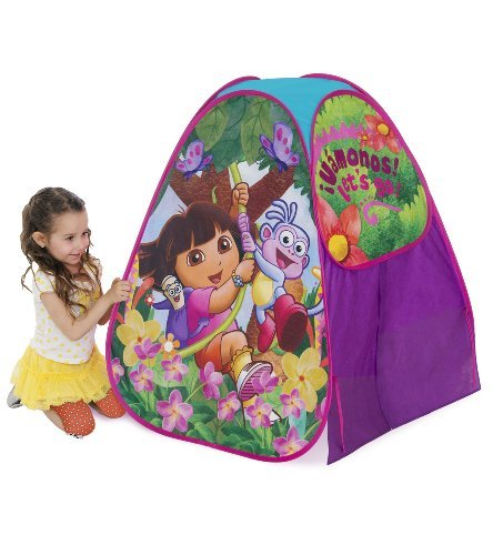Playhut Dora Camp N Play Tent by Dora the Explorer