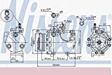 Nissens 89349 Compressor, air conditioning