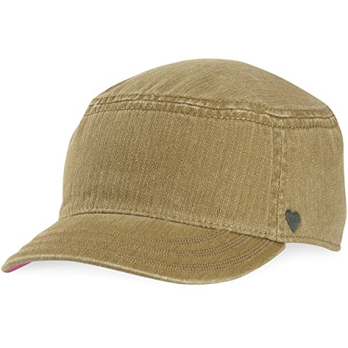 Life is Good Women's Cadet Heart Tonal Hat, Woodland Green, One Size