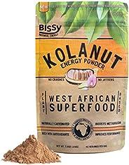 Natural Kola Nut Energy Powder | More Effective Than Coffee & Tea | Mixes in Smoothies, Workout Shakes &am