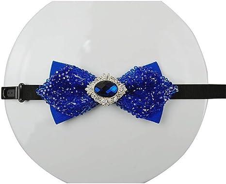 LILILICX Pajaritas Corbata de moño con Diamantes de imitación de ...
