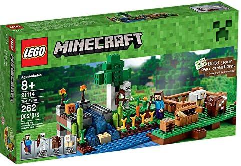 Amazon.es: LEGO Minecraft La Granja - Juegos de construcción, 8 año(s), 262 Pieza(s), Juego, Niño/niña
