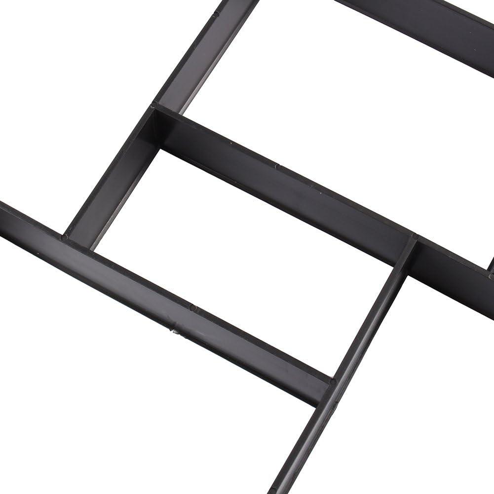Forma per Selciato in Cemento o Pietra Pavimentazione Esterna Camminamento Naturale di Resina Resistente Fai da te 53x53cm Stampo per Vialetto da Giardino DIY Plastic Path Maker Mold Walkmaker
