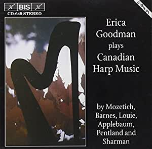 Erica Goodman plays Canadian Harp Music