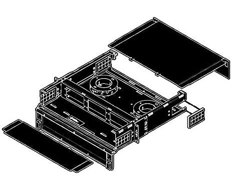 OCC RTS Fiber Patch Panel, Slide-Out, 2U, 6 Panels, Up