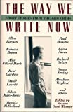 The Way We Write Now : Short Stories from the AIDS Crisis, , 0806516380
