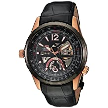 Orient Men's 'Rally' Japanese Automatic Stainless Steel Casual Watch, Color:Black (Model: FFT00008B0)