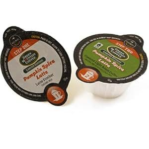 Green Mountain Pumpkin Spice Latte Coffee Keurig Vue Portion Packs, 16 Count