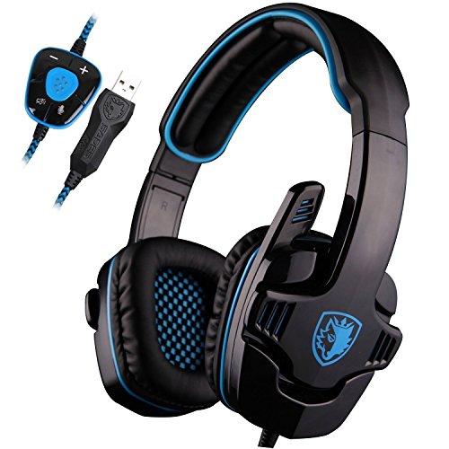 SADES Surround Headset Headband Headphone